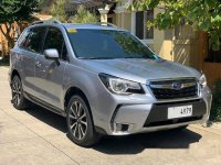 Silver Subaru Forester 2016 at 31000 km for sale