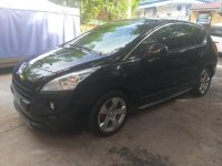 Black Peugeot 3008 2013 for sale in Automatic