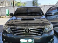 Grey Toyota Fortuner 2016 for sale in Munoz