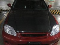 Selling Red Honda Civic 1999 in Manila
