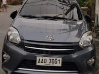 Selling Grey Toyota Wigo 2014 in Las Pinas