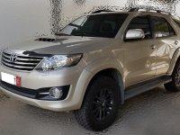Beige Toyota Fortuner 2016 for sale in Manila