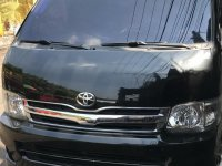 Black Toyota Hiace 2013 for sale in Manila