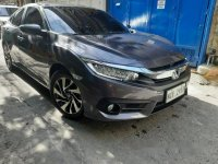 Grey Honda Civic 2016 for sale in Quezon City
