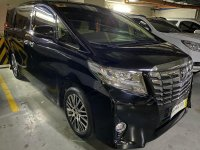 Black Toyota Alphard 2015 for sale in Automatic