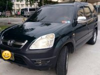 Selling Black Honda Cr-V 2002 in Quezon City