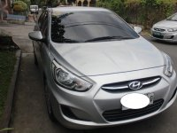 Silver Hyundai Accent 2015 for sale in Quezon City