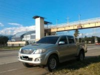 Silver Toyota Hilux 2012 for sale in Manila