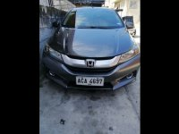 Selling Grey Honda City 2014 Sedan at  Manual   at 81000 in Quezon City