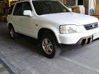 Selling White Honda Cr-V 2001 in Calamba
