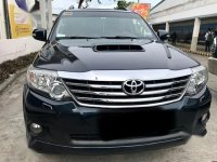 Selling Black Toyota Fortuner 2016 in Tanauan