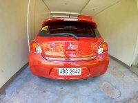 Orange Mitsubishi Mirage 2015 for sale in Manual