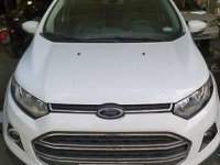 White Ford Ecosport 2015 Automatic for sale