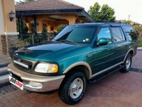 Green Ford Expedition 1997 Automatic for sale