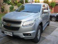 Selling Silver Chevrolet Trailblazer 2014 in Quezon City