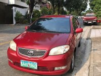 Sell Red 2004 Toyota Vios in Manila