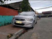 Silver Hyundai Accent 2017 for sale in Bautista