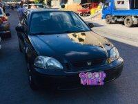 Selling Black Honda Civic 1997 in San Fernando