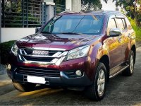 Sell 2016 Isuzu Mu-X in Valenzuela