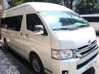 Sell White 2010 Toyota Hiace in Manila