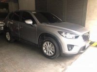 Grey Mazda Cx-5 2015 at 35000 km for sale