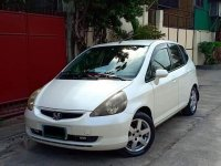 Sell Pearl White 2013 Honda Fit in Quezon City
