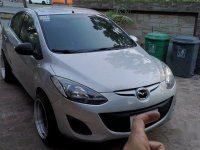 Silver Mazda 2 2014 for sale in Caloocan