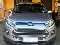 Selling Silver Ford Ecosport 2014 at 95000 km
