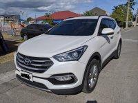 White Hyundai Santa Fe 2016 for sale in Bacoor