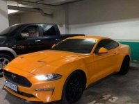 Yellow Ford Mustang 2016 Coupe / Roadster for sale in General Santos