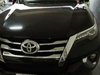 Sell Black 2017 Toyota Fortuner at 35000 km