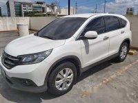 White Honda Cr-V 2013 at 71400 km for sale