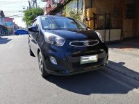 Black Kia Picanto 2013 for sale in Manila