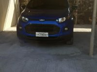 Blue Ford Ecosport 2016 for sale in Lingayen