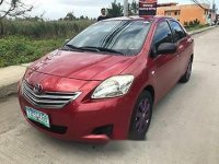Selling Red Toyota Vios 2012 at 120000 km