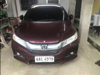 Selling Purple Honda City 2014 Sedan in San Pablo