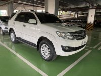 Selling Pearlwhite Toyota Fortuner 2016 in Manila