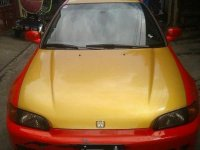 Sell Red 1992 Honda Civic in Bacoor