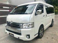 Selling White Toyota Hiace 2016 in Parañaque