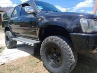 Selling Black Toyota Hilux 2009 in Davao