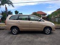 Golden Toyota Innova 2006 for sale in Cebu City