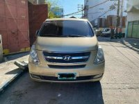 Golden Hyundai Grand starex 2010 for sale in Manila