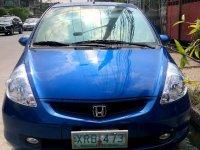 Blue Honda Jazz 2008 for sale in Manila
