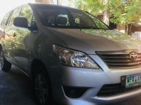 Selling Silver Toyota Innova 2013 in Bustos