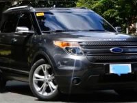 Grey Ford Explorer 2015 for sale in Manila