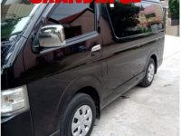 Selling Black Toyota Hiace 2018 in Manila