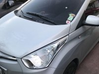 Silver Hyundai Eon 2016 for sale in Manila