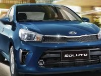 Sell Blue 2020 Kia Soluto in Quezon City