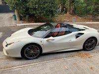 White Ferrari 488 2019 for sale in Manila