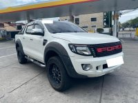 Selling White Ford Ranger 2015 in Quezon City